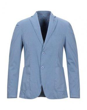Пиджак FAG. Цвет: грифельно-синий
