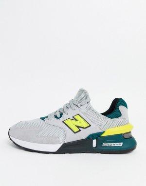 Серые кроссовки 997S-Серый New Balance