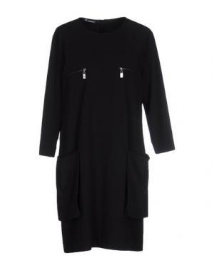 Короткое платье CARAMELO. Цвет: черный