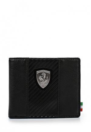 Кошелек Puma Ferrari LS Wallet M. Цвет: черный