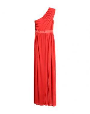 Длинное платье VIKTOR & ROLF. Цвет: оранжевый