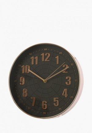 Часы настенные Decogallery. Цвет: черный