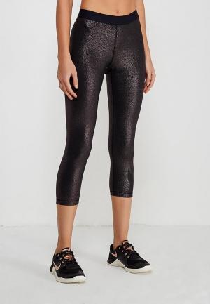 Капри Nike W NP COOL CPRI GOLD. Цвет: черный