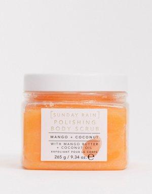 Кремовый скраб для тела с маслом манго и кокоса -Бесцветный Sunday Rain