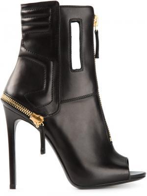 Ботинки Gianmarco Lorenzi. Цвет: чёрный
