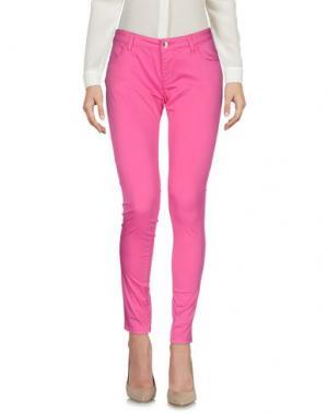 Повседневные брюки FRACOMINA. Цвет: фуксия