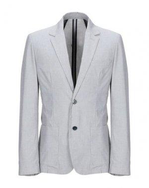 Пиджак CRUNA. Цвет: светло-серый