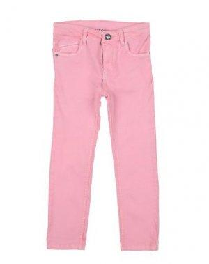 Повседневные брюки 3 POMMES. Цвет: розовый