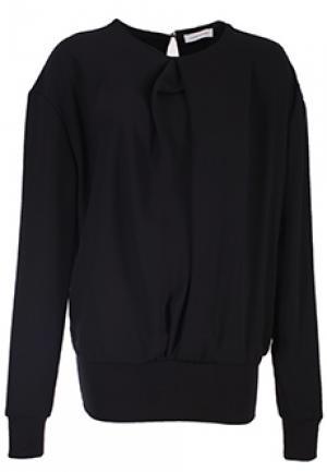 Блуза COSTUME NATIONAL. Цвет: черный