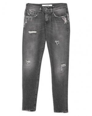 Джинсовые брюки 2 MEN. Цвет: свинцово-серый