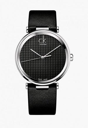 Часы Calvin Klein. Цвет: черный