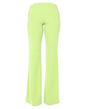 Повседневные брюки GAI MATTIOLO. Цвет: кислотно-зеленый