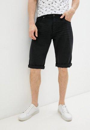 Шорты джинсовые Zolla. Цвет: черный