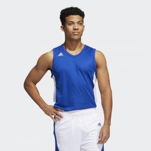 Баскетбольная джерси N3XT L3V3L Prime Performance adidas. Цвет: белый