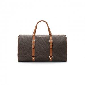 Дорожная сумка Bedford MICHAEL Kors. Цвет: коричневый