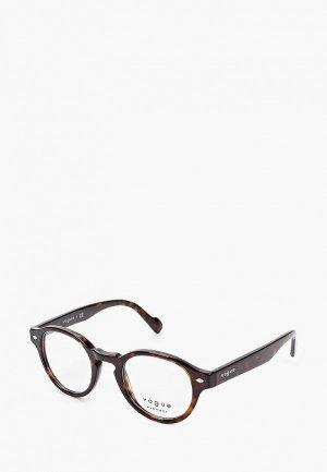 Оправа Vogue® Eyewear VO5332 W656. Цвет: коричневый