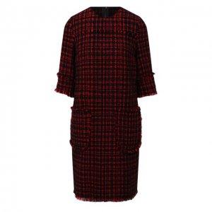 Платье Dolce & Gabbana. Цвет: красный