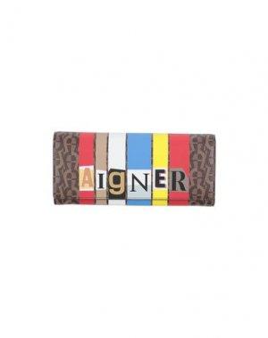 Бумажник AIGNER. Цвет: коричневый