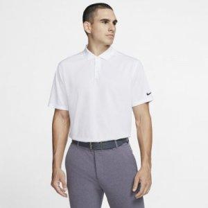 Мужская рубашка-поло для гольфа Dri-FIT Victory - Белый Nike