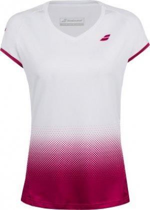 Футболка женская Complete Cap, размер 44-46 Babolat. Цвет: белый