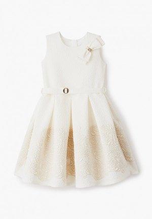 Платье Mimpi Lembut. Цвет: белый