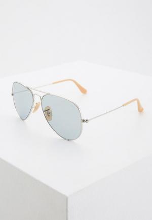 Очки солнцезащитные Ray-Ban® RB3025 9065I5. Цвет: серебряный