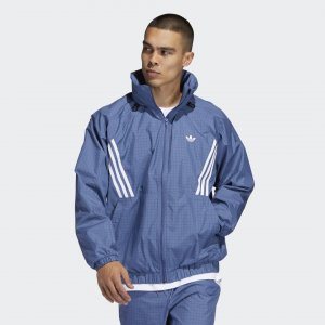 Ветровка Primeblue Workshop Originals adidas. Цвет: черный