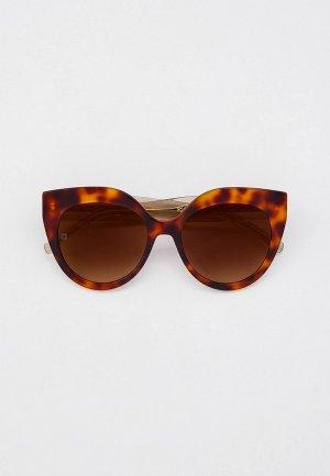 Очки солнцезащитные Elie Saab ES 081/S 086. Цвет: коричневый