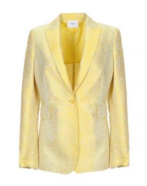 Пиджак AKRIS PUNTO. Цвет: желтый
