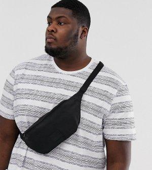 Черная сумка-кошелек через плечо Plus-Черный цвет ASOS DESIGN