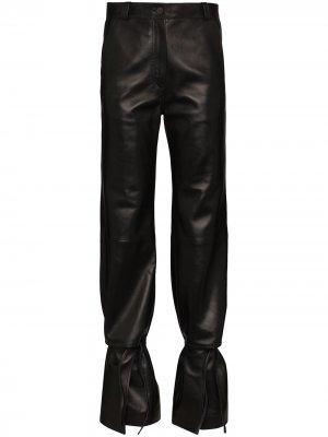 Расклешенные брюки с завышенной талией Loewe. Цвет: черный