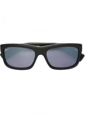 Солнцезащитные очки My Dixadryll Chrome Hearts. Цвет: чёрный
