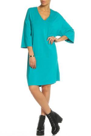 Платье Анна Чапман. Цвет: изумрудный