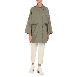 Пальто W0220K серо-зеленый GEOX