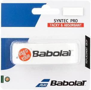 Намотка базовая Syntec Pro Babolat. Цвет: белый