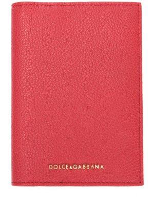 Обложка для документов DOLCE & GABBANA. Цвет: красный