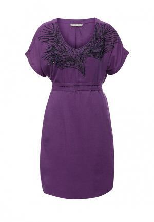 Платье Kookai KO010EWJRZ75. Цвет: фиолетовый