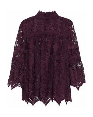 Блузка ANNA SUI. Цвет: баклажанный