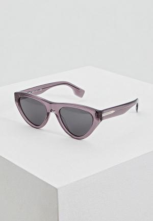 Очки солнцезащитные Burberry BE4285 379787. Цвет: серый