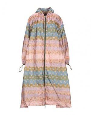Легкое пальто DUVETICA. Цвет: розовый