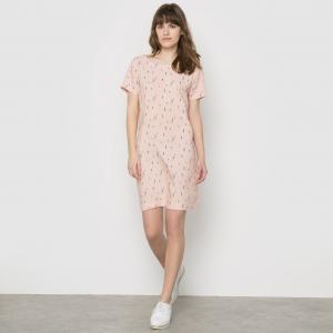 Платье-футляр с рисунком, RUSTICA KARL MARC JOHN. Цвет: рисунок/фон розовый