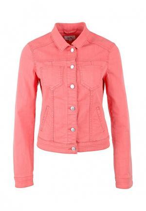 Куртка джинсовая Q/S designed by. Цвет: розовый