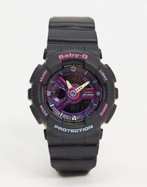 Черные наручные часы Baby G BA-110TM-1A-Черный Casio
