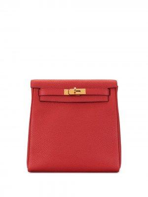 Рюкзак Kelly Ado PM pre-owned Hermès. Цвет: красный