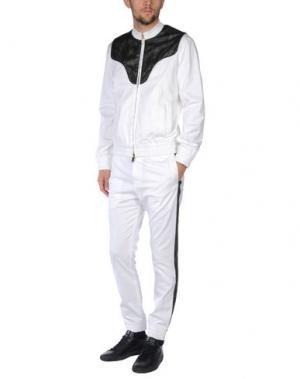 Спортивный костюм FRANKIE MORELLO. Цвет: белый