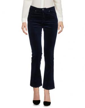 Повседневные брюки AG JEANS. Цвет: темно-синий