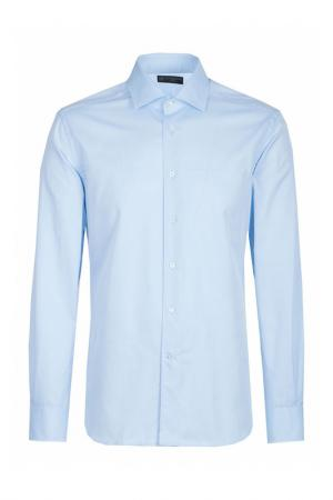 Рубашка Corneliani. Цвет: голубой