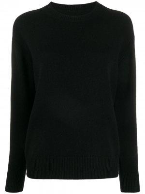 Пуловер с круглым вырезом IRO. Цвет: черный