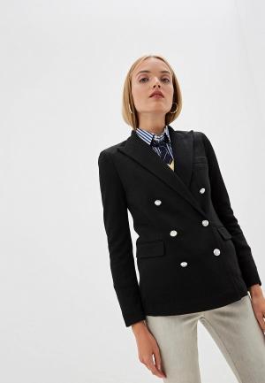Пиджак Polo Ralph Lauren. Цвет: черный