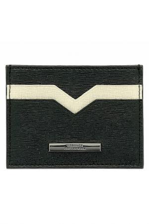 Визитница Versace Collection. Цвет: черный